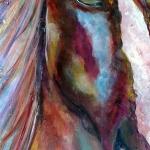 ©Kim Hicks,15x38x2 inches,Acrylic Painting,Gypsy
